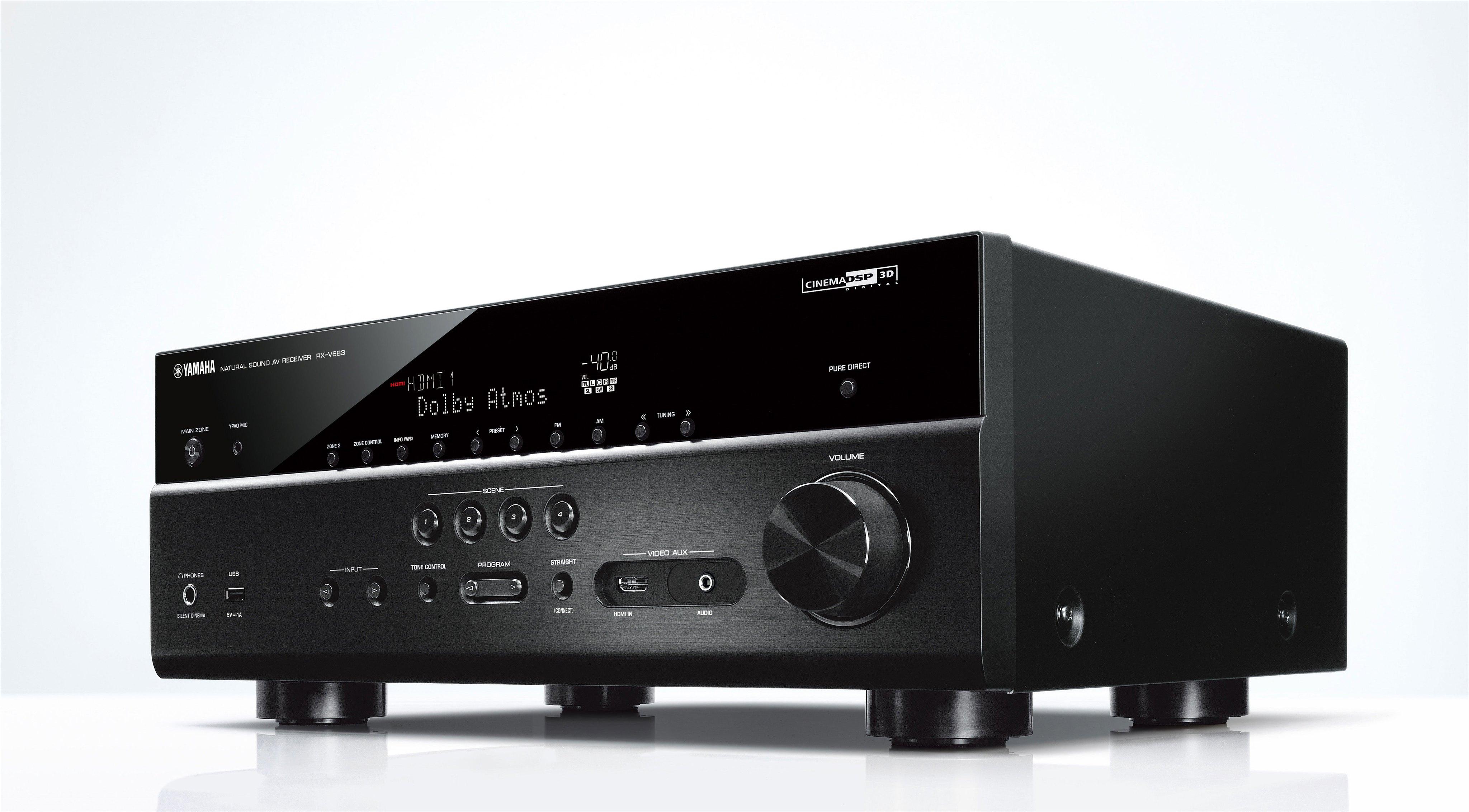 yamaha rx v683 musiccast audioshop. Black Bedroom Furniture Sets. Home Design Ideas