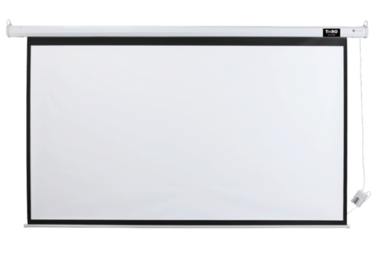 MOTORIZED PROJECTOR SCREEN 106″DIAGONAL