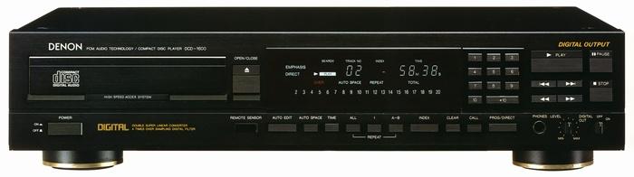 Denon Dcd 1600ne Super Audio Cd Player Audioshop